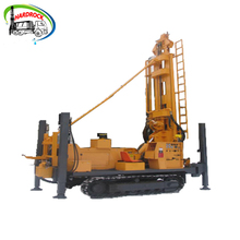 Water boring machine used crawler drill small well drilling rigs for sale