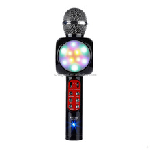 wireless microphone for smartphone with color light WS-1816 wireless microphone system