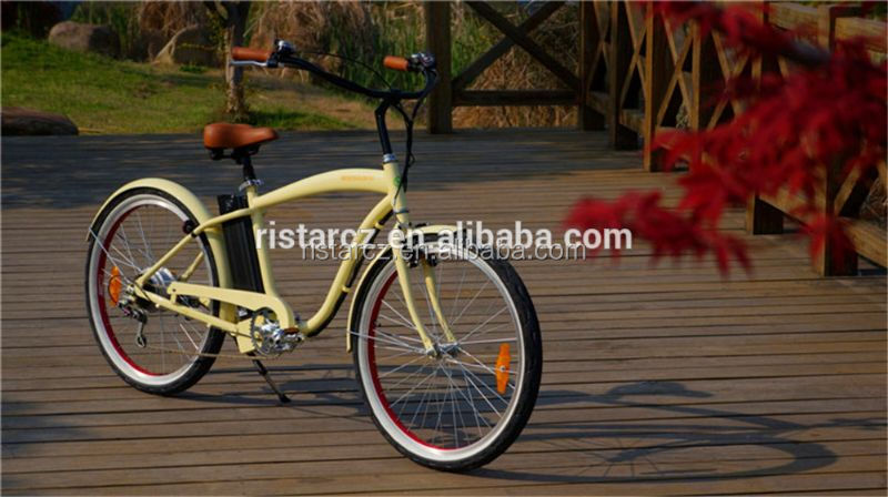 Land Cruiser 26inch electric bicycle sand with E-Mark Certificate