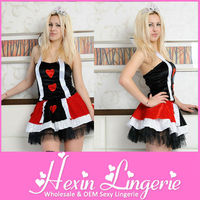 Free shipping wholesale cheap princess fashionable style sexy women halloween costume dress