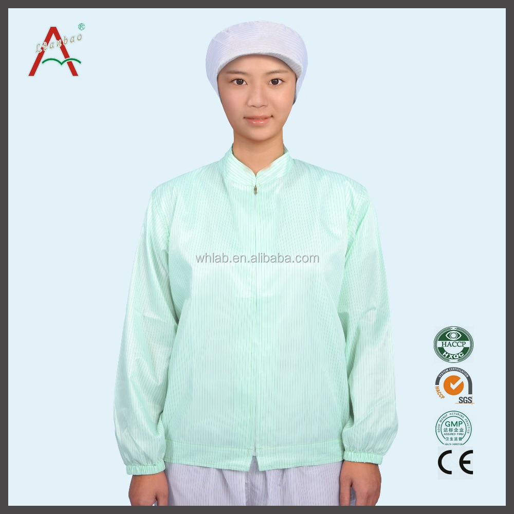Working Smocks For Clean Room Dust-Free Room