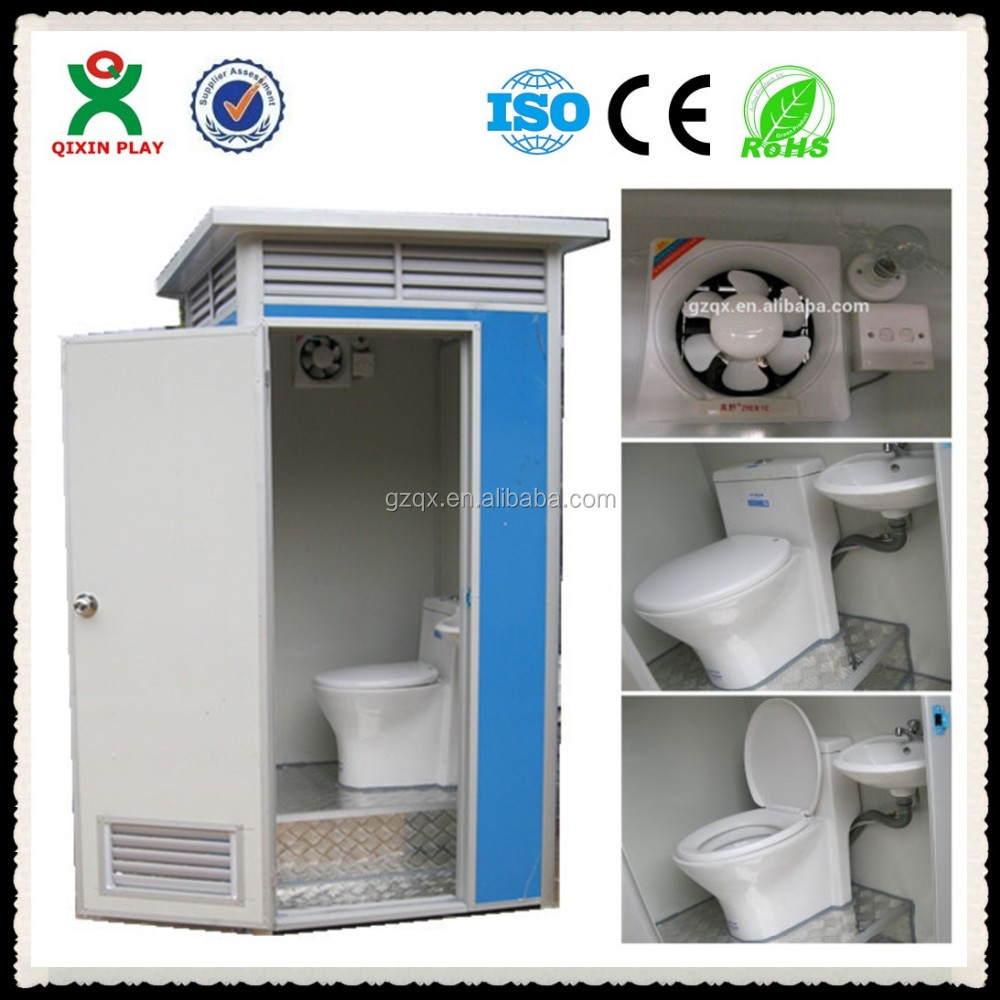 Guangzhou factory Strong Quality Outdoor Mobile Portable Toilet/cheap portable toilets sale/plastic portable toilet QX-142F