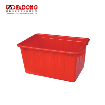 680*460*355mm turnover plastic box for water