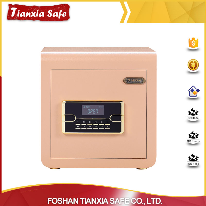 factory supply high-tech digita new looks electronic safes for sale with double key lock