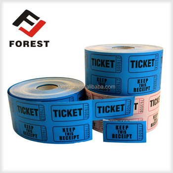 Supply cheap price high quality dance distributed lottery drawing tickets