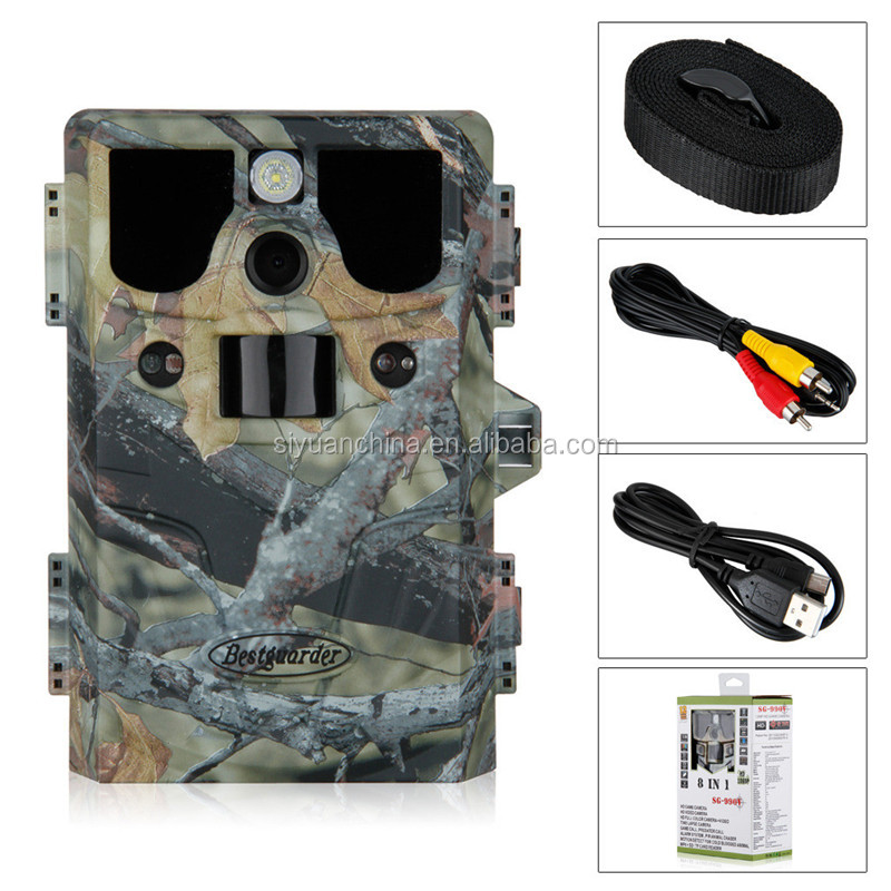 12mp HD 1080P NO Glow long detection range Scouting camera up to 85ft Bestguarder