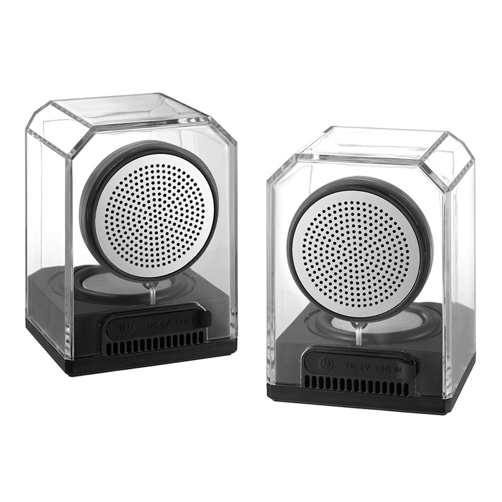 Nouveau BTS-628 Portative Imperméable Extérieure Acrylique Transparent Sans Fil TWS D'interconnexion Bluetooth Haut-Parleur - ANKUX Tech Co., Ltd