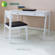 Yibang Solid Modern Office Furniture Wooden Small Study Reading Table Design, Reading Desk And Chair