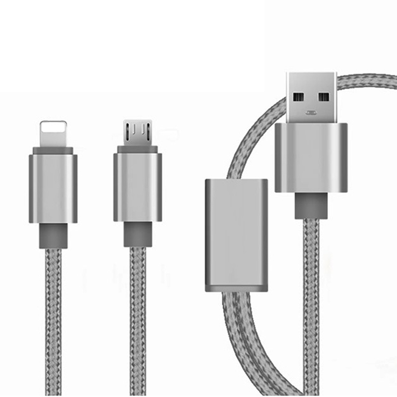 3 in 1 USB-Datenkabel 2 in 1 Mobiltelefon-Ladekabel Schnellladekabel mit USB-Kabel - ANKUX Tech Co., Ltd