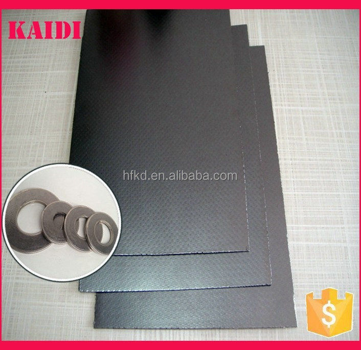Good sealing performance sheet type reinforced expanded graphite manufacturer