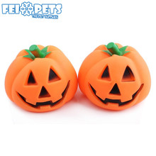 Sounding Toys Pet Supplies Dog Toys Halloween Pumpkin Pet Toys For Dog