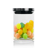 /product-detail/candy-jar-glass-jar-with-metal-lid-airtight-container-for-cookie-and-different-snacks-60029718944.html