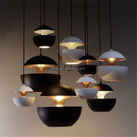 hot sales modern small fancy decorative aluminum pendant lamp for restaurant