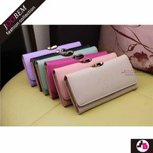 Alibaba China Wholesale custom pu ladies wallet