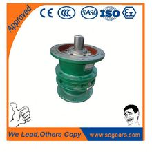 Cycloidal reducer motor gear box mount