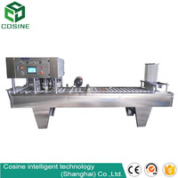 Automatic Pudding Cup Sealing Machine