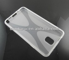 Made in China For Samsung Galaxy Note 3 Phone Case X Line TPU Cover N9000 N9005 N9006