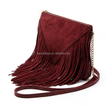 Hot Selling Women Bag Suede Fringe Tassel Shoulder Bag Women Handbags Messenger Bags