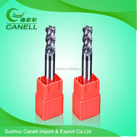 cnc milling cutter cutting end mill end mill cutter sizes