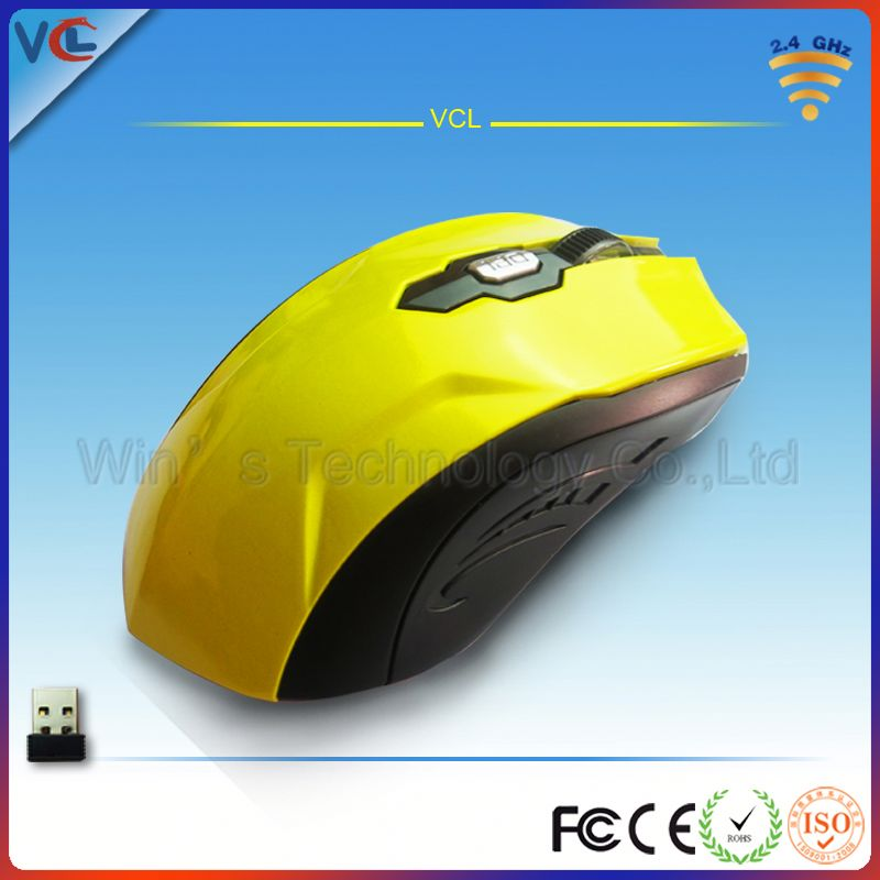 2.4ghz usb wireless optical mouse driver 6D gaming mouse