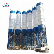 <strong>100</strong> Ton Small Storage Used Commercial Cement Steel Silo Price for Sale
