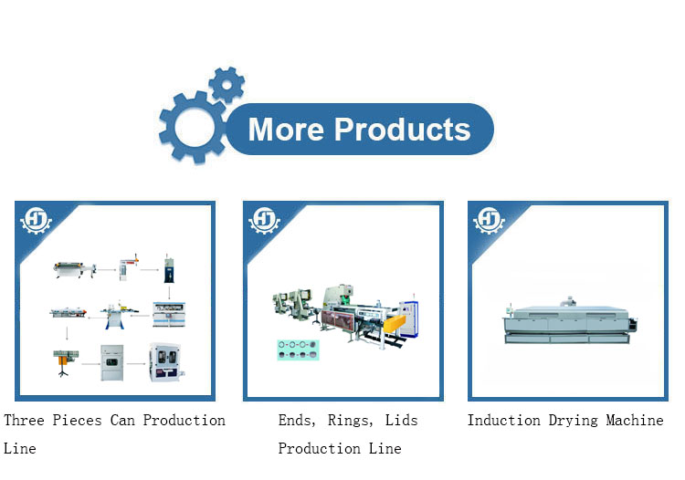 Fully Automatic Can Making Production Line for foods/paints/beverage can