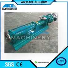Three Screw Pump Types Heated Jacket Asphalt Pump Price