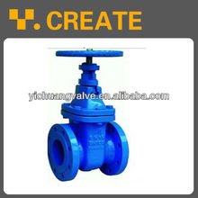 DIN Cast Iron Rising Stem Gate Valve,PN16