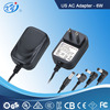 6W 12V USA LED driver , plug adapter, AC Adapter, Switching Power Supply with GS CE