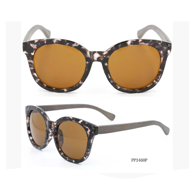New coming trendy style light Cheap Female Sunglasses Bamboo Glasses