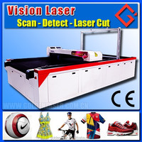 Printed Textile Jacquard Woven Shoes Fabric CCD Cutting Machine (Laser Cutting Machine)