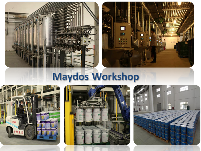 Maydos Anti-Slip Epoxy Resin Concrete Floor coating paint Guangdong supplier