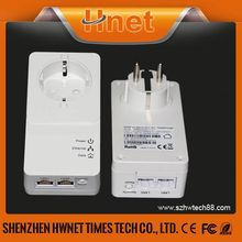 2015 New design HomePlug AV2 (500+Mbps) Powerline Mini Passthrough adapter powerline networking reviews