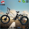Cheap 48V 500W Alloy Frame Fat Tire Adult Pedal Electric Tricycle