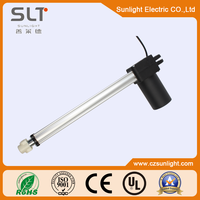 Tubular linear dc motor with permanent magnet for Gear box