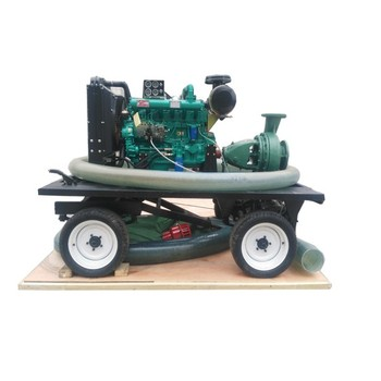 High flow large irrigation water pump  with diesel engine for agricultural  in China