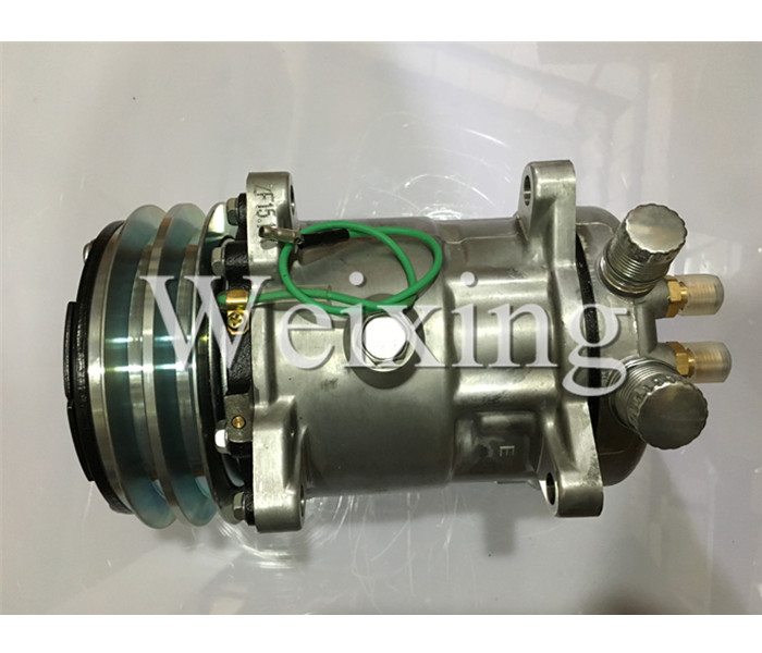 Air condtioning compressor SD5S14 508 <strong>R134</strong> new model S6627 6627 24V 4897807280 2010
