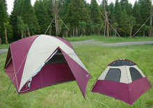 cheap wholesale outdoor canvas camping tent for sale