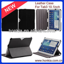 Newest 10.1 Inch Fold PU Leather Tablet Case for Samsung Galaxy Tab3