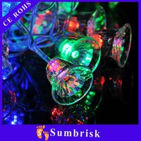 Christmas led rope lights solar rice holiday lights