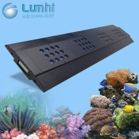 2016 Best new selling Chinese 120cm dimmable sunrise sunset simulation aqua thunder storm coral reef used led aquarium light