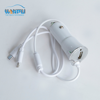 12V 24V 2.1A Mini promotional design Multi universal Single Portable car USB phone charger