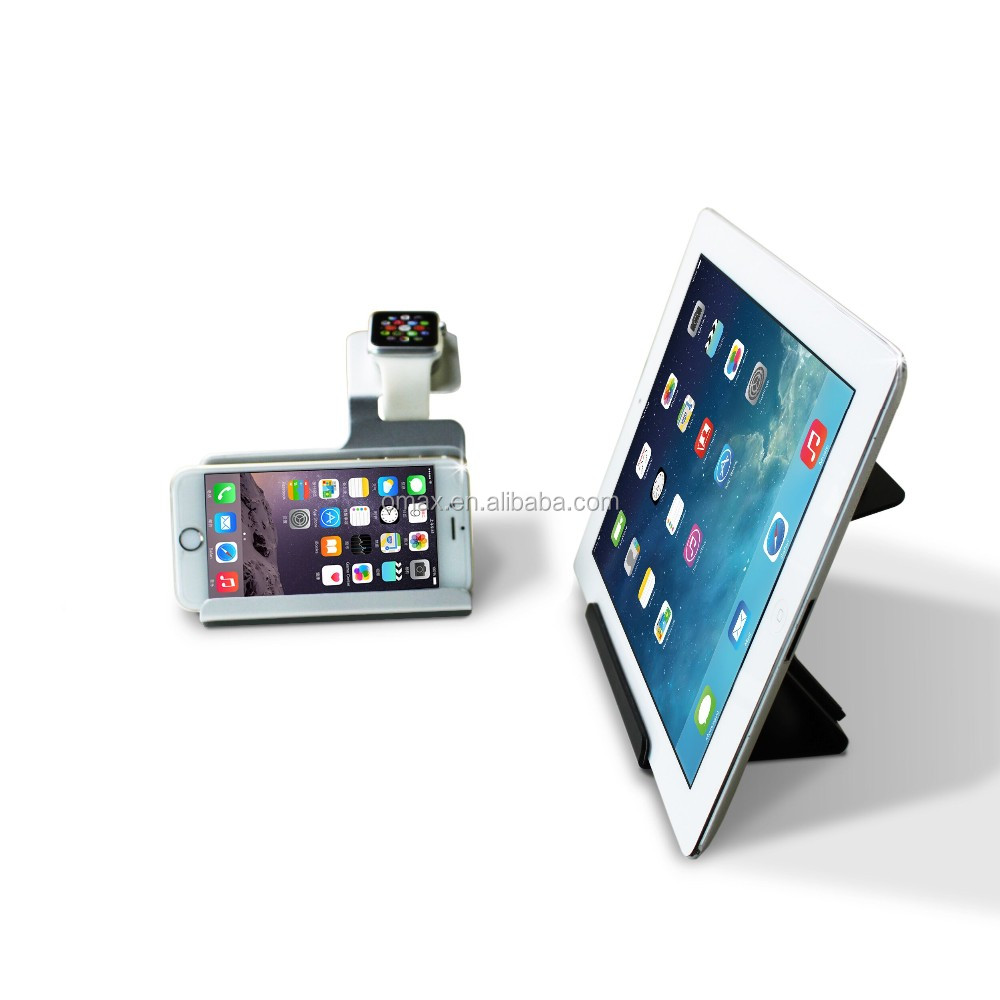 3 In 1 Charging Docking Station Charger Stand Holder Cradles for Apple Watch for Mobile Phone