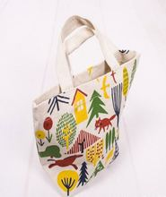 recycled cheap cotton shopping foldable bag