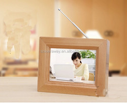 2015 New design style eco-friendly white wood 3D picture frame