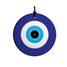 Home Blessing Ceramic Lucky Wall Hanging Evil Eye Wall Decor