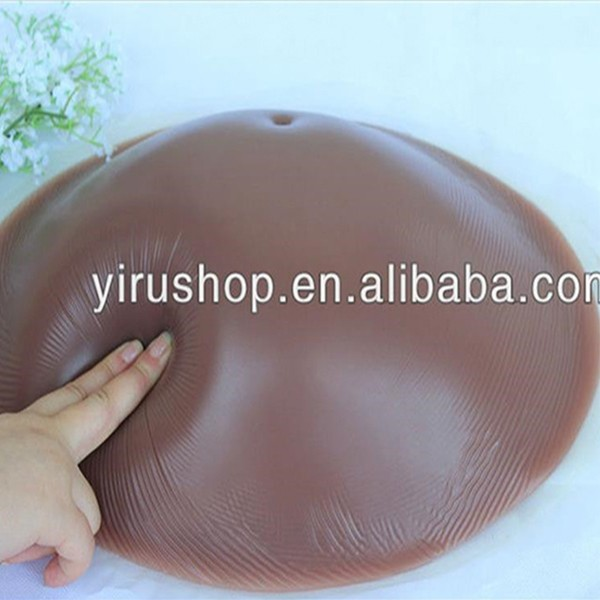 Free shipping 1000g fake belly for crossdressing pregnancy belly false pregnant woman silicone belly