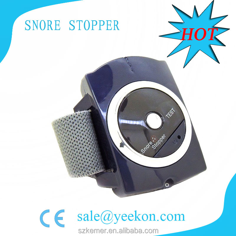 My snoring solution anti snore watch snore no more with gel pads