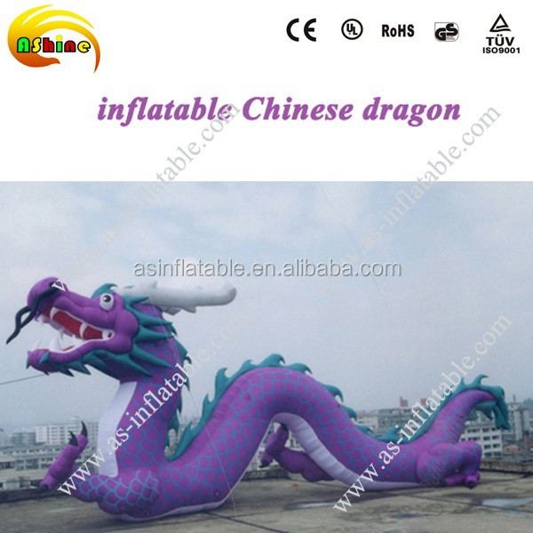 Inflatable giant zenith dragon