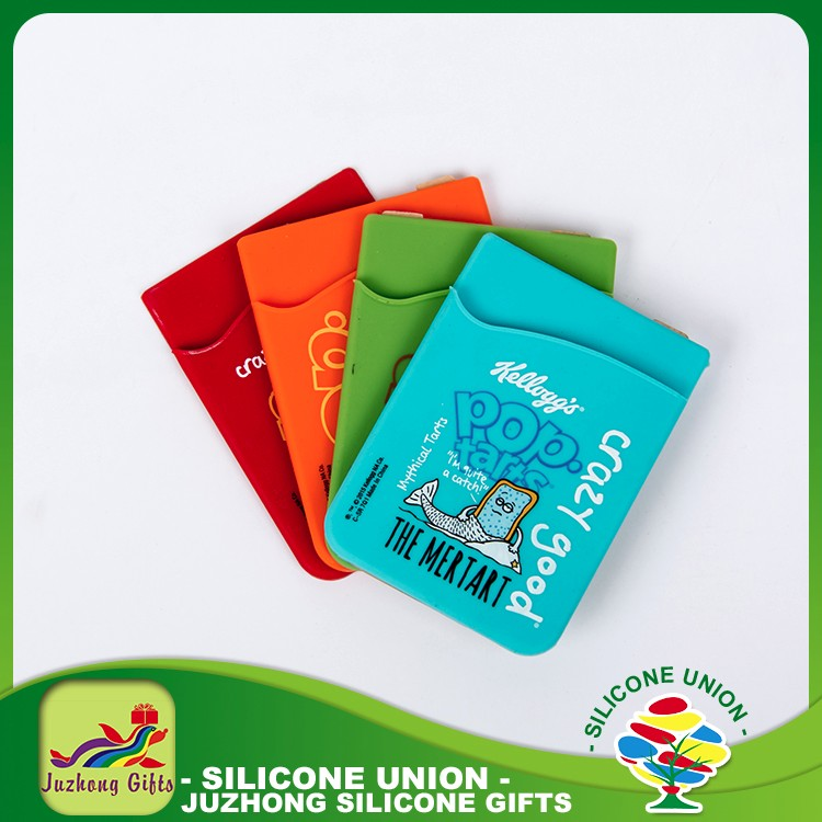 Silicone top selling most popular best quality control card holder silicone business card holder